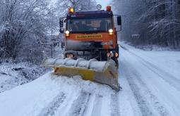 Zima na drogach powiatu przeworskiego