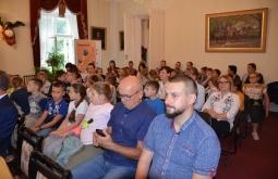 """Prezentacja wystawy """"Opowieści wąskotorowe"""" w Muzeum w Przeworsku"""