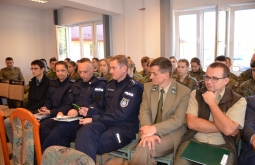 Ćwiczenie Powiatowego Zespołu Zarządzania Kryzysowego w Przeworsku