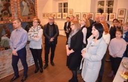 Wernisaż wystawy malarstwa Tadeusza Wojnarskiego