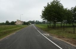 Oddanie do użytku drogi powiatowej Tryńcza – Wólka Małkowa i ścieżki rowerowej