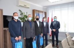 Spotkanie w sprawie nawiązania współpracy przy budowie farmy fotowoltaicznej